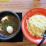 博多一幸舎 慶史 - 味玉つけ麺900円/麺200g。