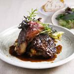 牛サーロインステーキ シェリーヴィネガーソース クレソンのサラダ(+300円)