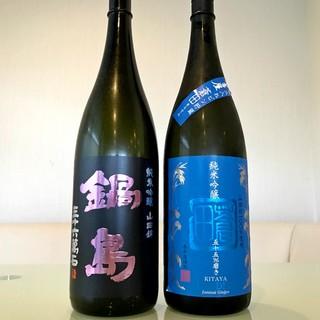 【夏のお酒】純米吟醸「鍋島」、純米吟醸「蒼田」