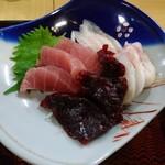 むらかみ食堂  - 料理写真:刺身定食 アップ