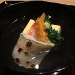 Tagawa - 椀(鱚 ばちこ 玉子豆腐 菜種)