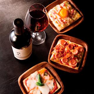 4つの産地を旅するワインと料理のマリアージュを、ここ銀座で