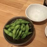 神戸COCCO - ビールセットの枝豆♪