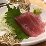 はーべすと - ◆鮪のお刺身・・多分「ヨコワ」ですね、お味は普通。