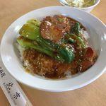 北京 - 料理写真:扣肉飯(豚肉の角煮ごはん)