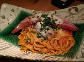 なっぱjuicy 川崎 - 覆いかぶさるステーキみたいなベーコン