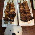 炭火串焼 ふじ - やきとり、せせりたれ Yakitori, Chicken Neck Meat Skewers Tare Sauce Flavor at Sumibi Kushiyaki Fuji
