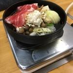 乃ざ喜 - コンロと定食