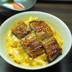 85542733 - うな玉丼(新潟のコシヒカリ)
