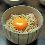85542778 - シラス丼(新潟のコシヒカリ)、生卵をそえて