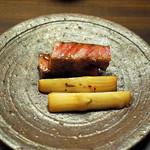 85542807 - 京都牛と筍の焼き物