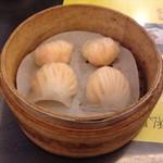 杭州小籠湯包 - エビ蒸し餃子