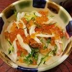 和食レストランとんでん - ミニオホーツク丼 518円