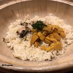千陽 - 鮑と海胆のいちご煮ぞうすい