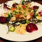 イタリア料理 フィオレンツァ - 海鮮カルパッチョ。