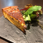 Yui - 兎肉と白葱を焼いたパンキッシュ