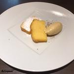 Yui - レモンケーキにスパイスアイスクリーム