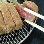 華ノ枝 - 牛カツ定食