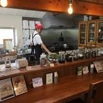 ブックカフェ アイテール - カウンター