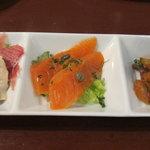 イタリアンバール イル カドッチョ - 前菜3種盛り
