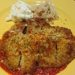 シーフード&スペインバル Azul - 日替わりランチ 豚肉のミラノ風カツレツ