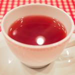 85551731 - とげまるランチ 1080円 の紅茶