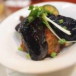 摂津 - 鶏なす竜田揚げおろしポン酢