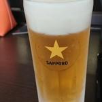 番屋の湯 - ビール 500円
