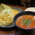 らーめん みうら家 - トマトつけ麺(冷)750円