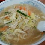 珍来 - タンメン(玉葱抜き)