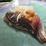 第三春美鮨 - 真鰺 75g 瀬付き 釣 兵庫県沼島