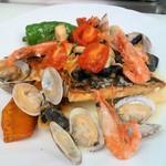 さるうて イタリアリストランテ - 魚介のアクアパッツア
