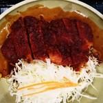 みそかつ・矢場とん - 味噌ロースカツ定食 アップ