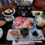 桜華亭 - 料理写真:黒豚しゃぶ御膳