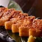 葱ぼうず - 料理写真:新潟名物 栃尾名産ジャンボ油揚げ