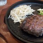 RISE Pasta&Grill - ランチのハンバーグ 1000円