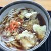 大和パーキングエリア(下り線)スナックコーナー - 料理写真:舞茸天ぷらうどん