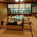 菊乃井 - 今日は二階の個室