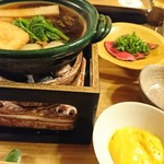 菊乃井 - 牛肉花山椒鍋(*^^*)