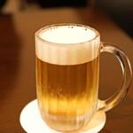 神楽坂友野 - 生ビール