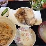 博多若鳥 - 白から定食780円(2018.05)