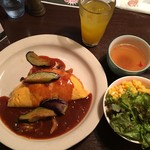 たまごのたまご - 料理写真:オムライスランチ1220円