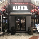CRAFT BEER HOUSE BARREL - 外観♫