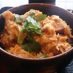 蕎麦由々 金王庵 - 濃い味のヒレカツ丼