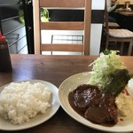 洋食ますだ - 今回は、ポークチャップ900円です(2018.5.9)