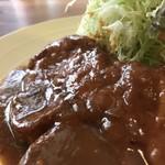洋食ますだ - 最高に出来の良いポークチャップ(2018.5.9)