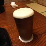 85571245 - 二木屋 乾杯はビール Happy Birthday俺!