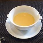鉄板焼 ボヌール - じゃがいもスープ