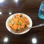 シシュマハル - 料理写真:ランチ セットのサラダ