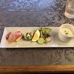 アトリエ ビブリ - 料理写真:Aランチ前菜